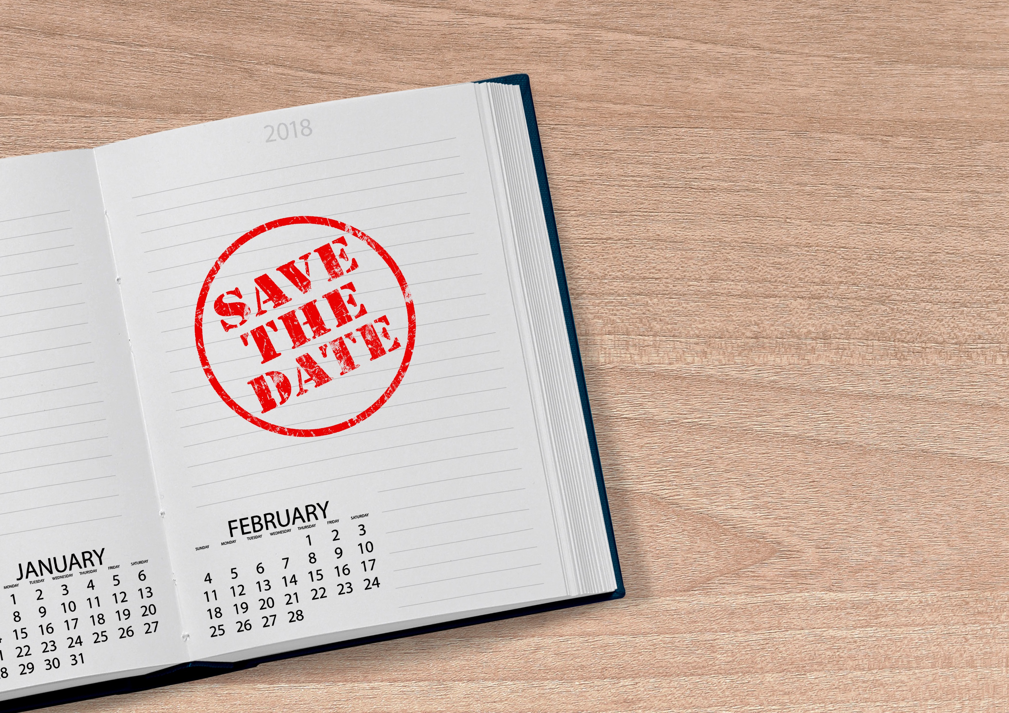 8 Months to D-Day… The Date is Saved… The Invitations Go Out!
